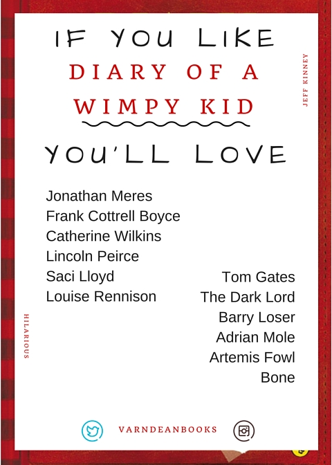 If you like Diary of a WImpy Kid, you'll love...