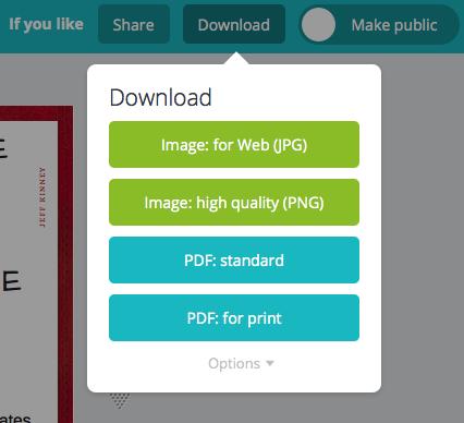 Choose a download format
