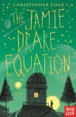Book cover for The Jamie Drake Equation, by Christopher Edge