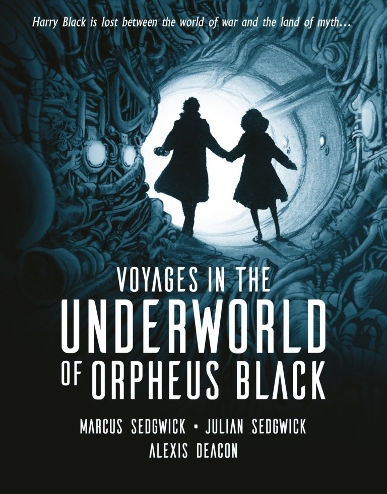 Book cover of Voyages In The Underworld of Orpheus Black