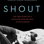 Front cover of Shout by Laurie Halse Anderson